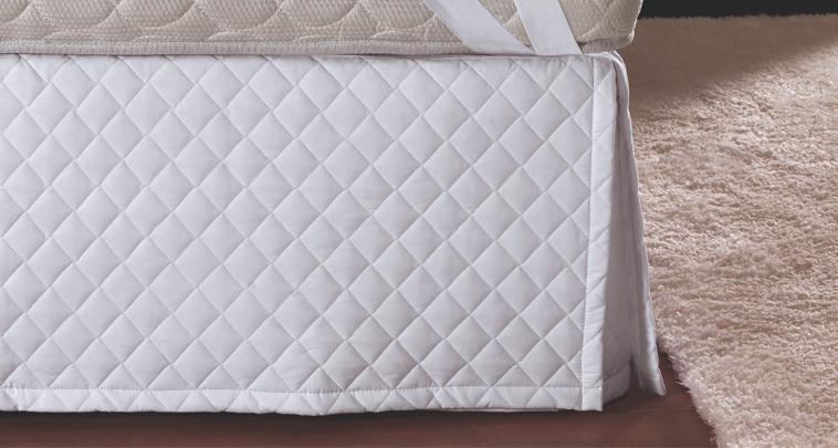Saia box: durabilidade para a cama e beleza para o quarto