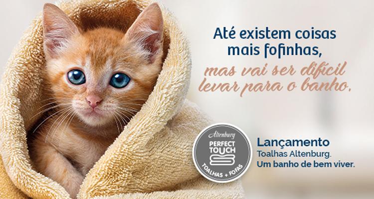 Um toque de carinho: novas toalhas da Altenburg