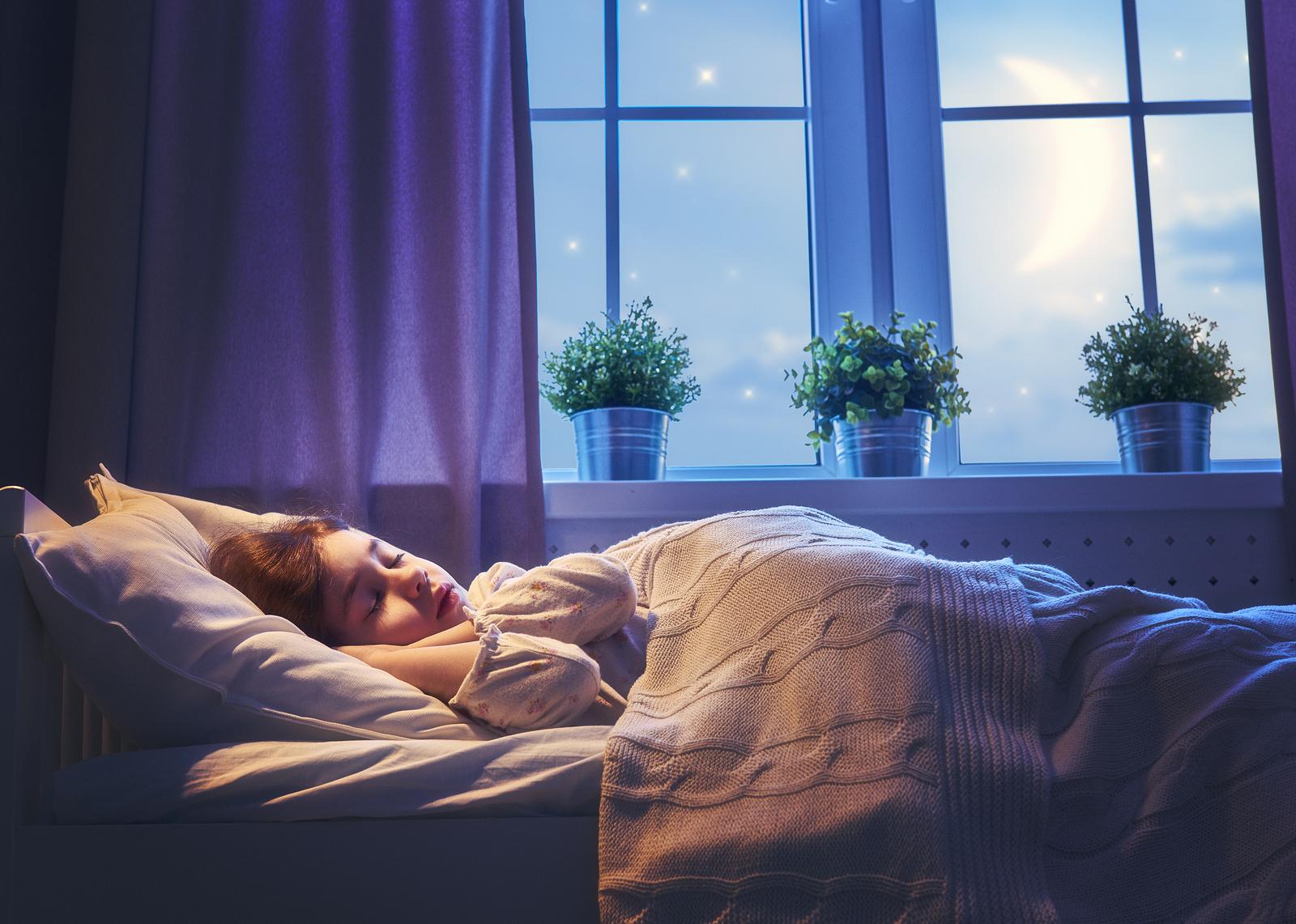 Como ajudar seu filho a ter uma boa noite de sono