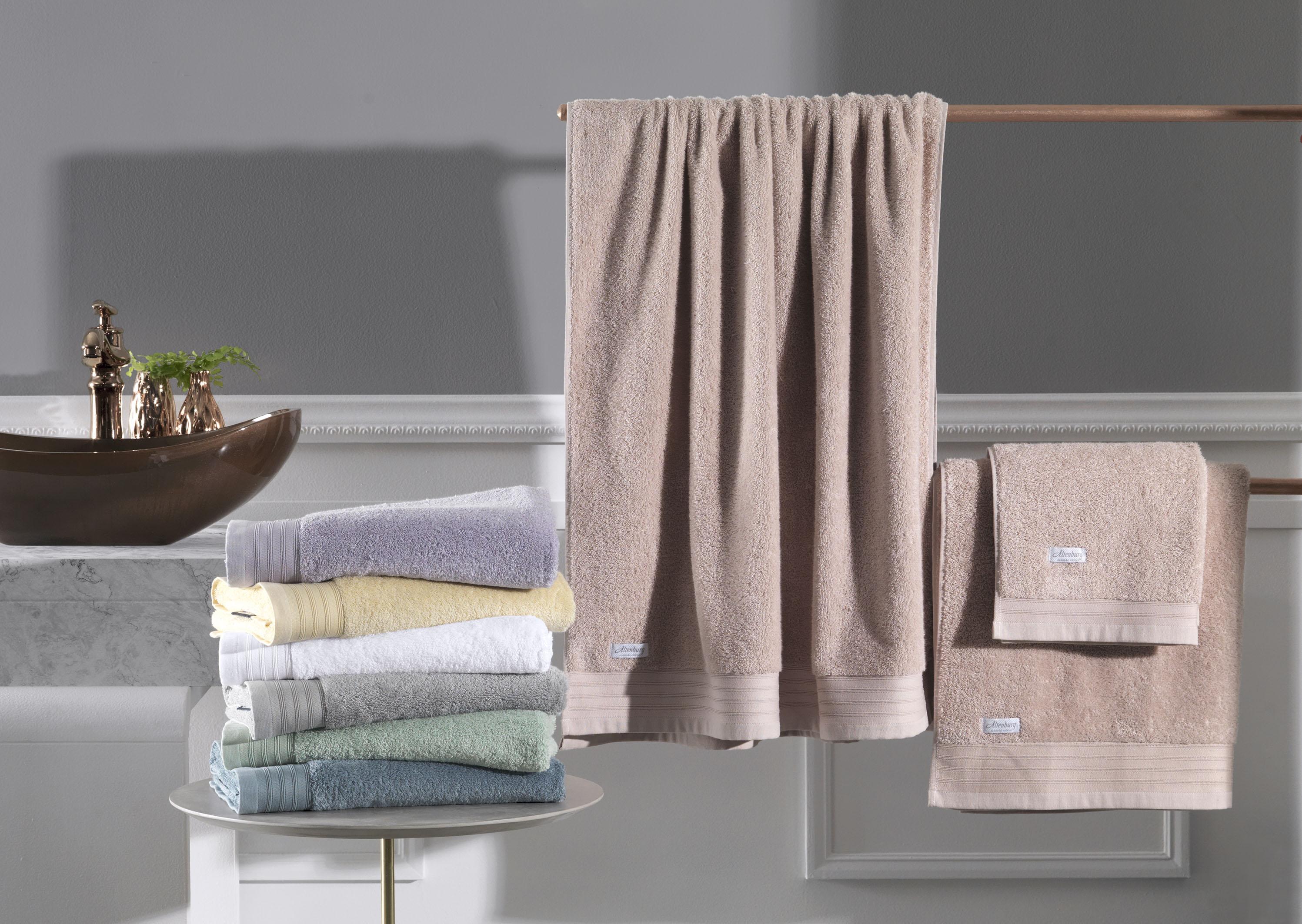 Conheça os diferentes tipos de toalha Altenburg