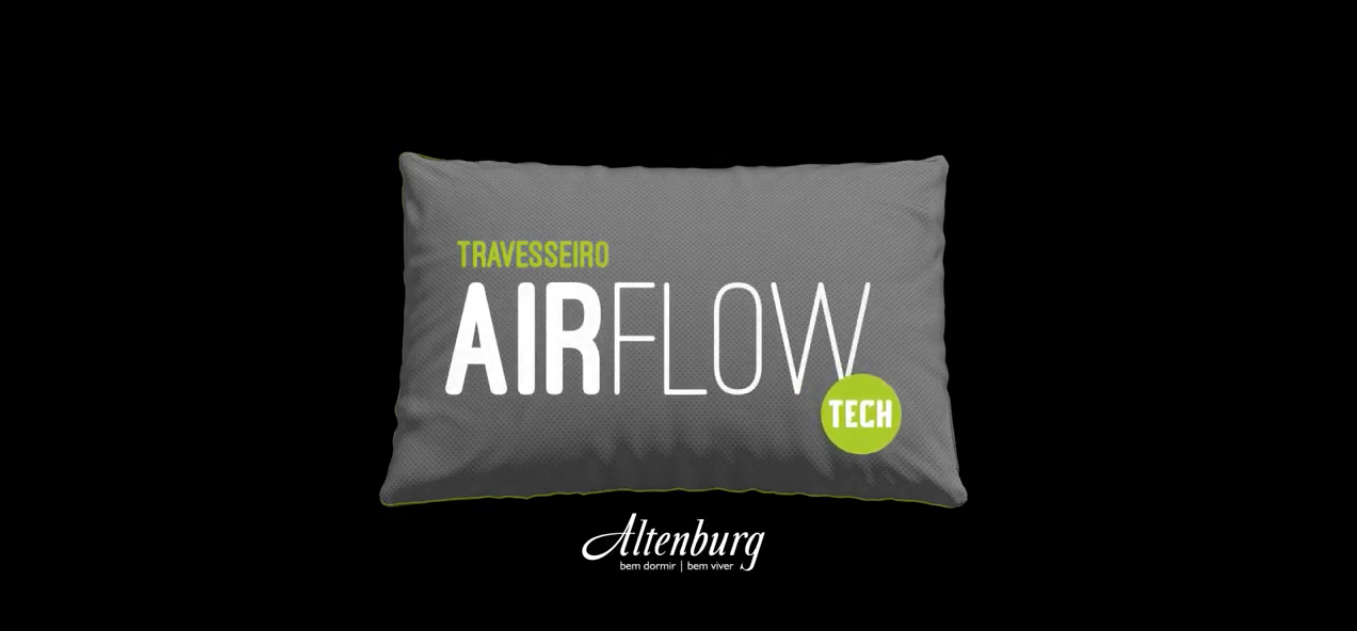 Você conhece o travesseiro Airflow da Altenburg?