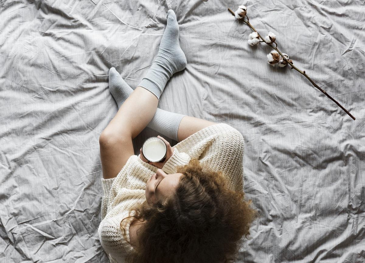 Leite morno ajuda a dormir?