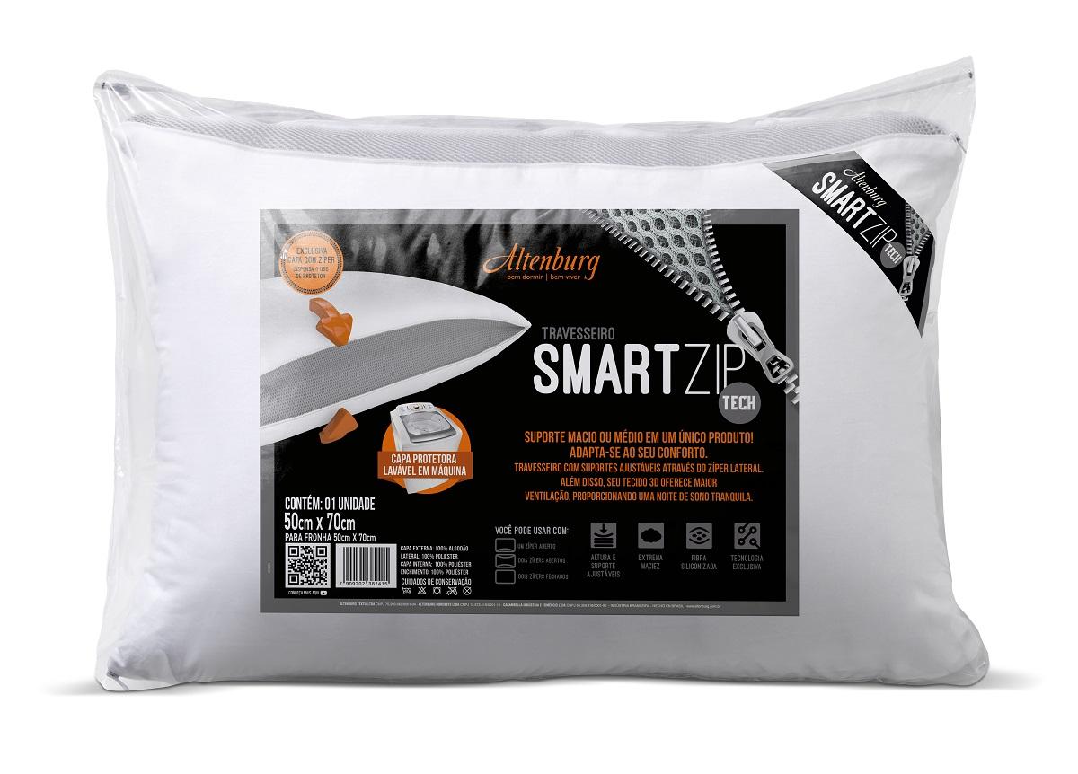 Conheça o travesseiro Smart Zip da Altenburg