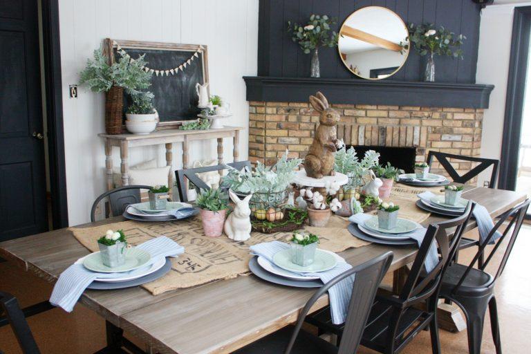 Como decorar a mesa para o almoço de páscoa