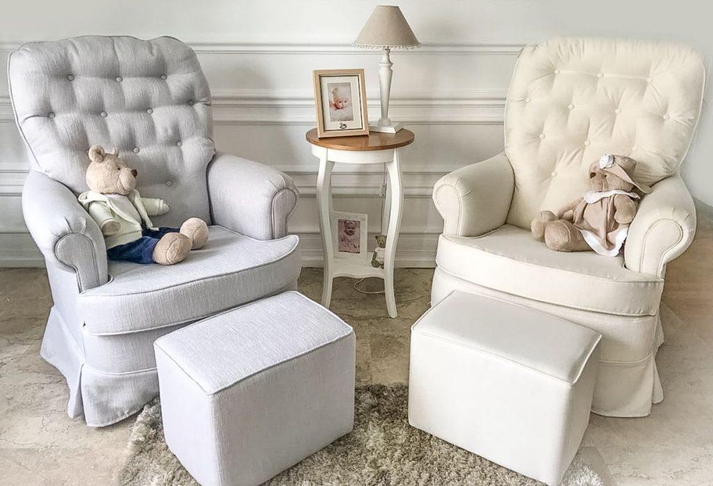 cadeira poltrona de amamentação para mamãe e bebê