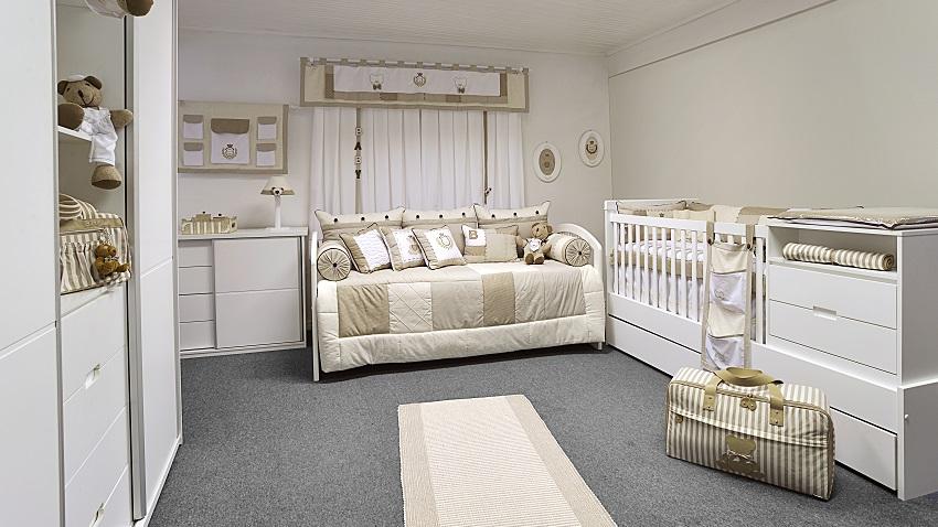 Como preparar o quarto para receber o bebê recém-nascido