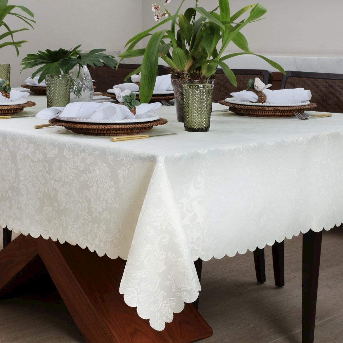 Toalha de mesa perfeita: como escolher a sua