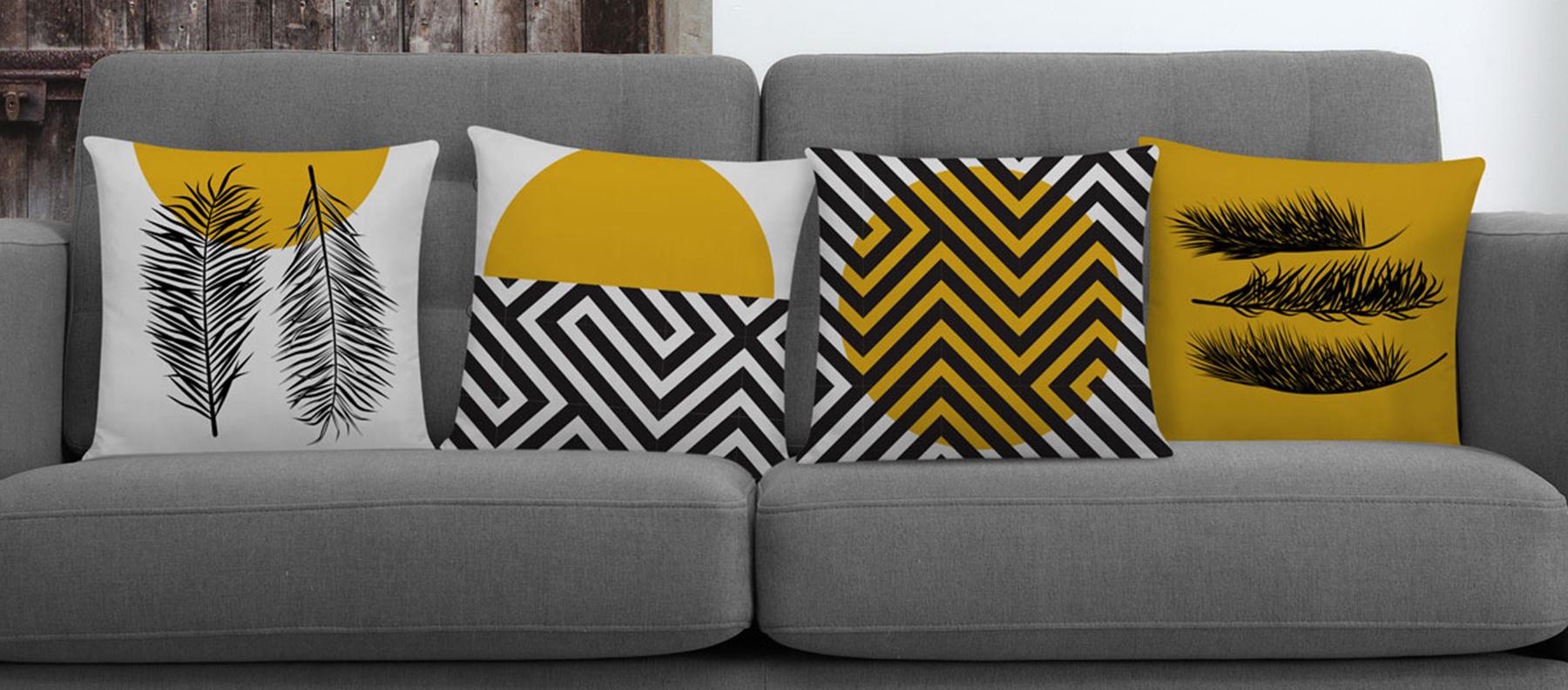 Almofadas na decoração: dicas de como usar na sua casa