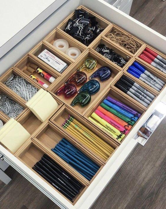 Organizar gavetas: dicas para colocar em prática