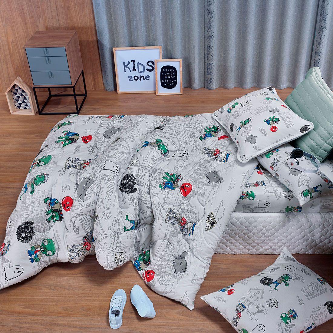 Roupa de cama infantil: como deixar o quarto mais divertido